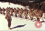 Image of US Army mountain troops ski Colorado United States USA, 1943, second 4 stock footage video 65675064972
