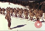 Image of US Army mountain troops ski Colorado United States USA, 1943, second 6 stock footage video 65675064972