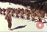 Image of US Army mountain troops ski Colorado United States USA, 1943, second 7 stock footage video 65675064972