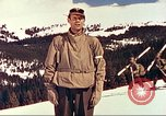 Image of US Army mountain troops ski Colorado United States USA, 1943, second 10 stock footage video 65675064972