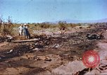 Image of F-100 Super Sabre crash New Mexico United States USA, 1957, second 3 stock footage video 65675064975