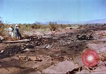 Image of F-100 Super Sabre crash New Mexico United States USA, 1957, second 4 stock footage video 65675064975