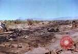Image of F-100 Super Sabre crash New Mexico United States USA, 1957, second 5 stock footage video 65675064975