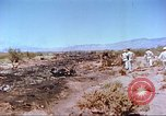 Image of F-100 Super Sabre crash New Mexico United States USA, 1957, second 8 stock footage video 65675064975