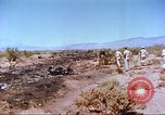 Image of F-100 Super Sabre crash New Mexico United States USA, 1957, second 9 stock footage video 65675064975