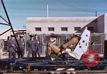 Image of rocket sled test New Mexico United States USA, 1958, second 12 stock footage video 65675064977