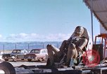 Image of rocket sled test New Mexico United States USA, 1958, second 4 stock footage video 65675064980
