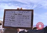 Image of dummy sled tests New Mexico United States USA, 1958, second 7 stock footage video 65675064996