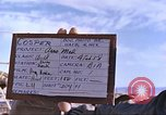 Image of dummy sled tests New Mexico United States USA, 1958, second 9 stock footage video 65675064996