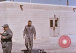 Image of airmen on sled New Mexico United States USA, 1958, second 10 stock footage video 65675064999