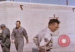 Image of airmen on sled New Mexico United States USA, 1958, second 12 stock footage video 65675064999