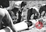 Image of rocket flight New Mexico United States USA, 1952, second 5 stock footage video 65675065004