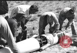 Image of rocket flight New Mexico United States USA, 1952, second 6 stock footage video 65675065004