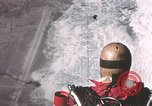Image of dummy with stabilizer chutes New Mexico United States USA, 1957, second 4 stock footage video 65675065006