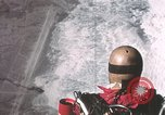 Image of dummy with stabilizer chutes New Mexico United States USA, 1957, second 6 stock footage video 65675065006