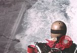 Image of dummy with stabilizer chutes New Mexico United States USA, 1957, second 12 stock footage video 65675065006