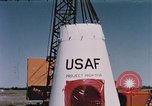 Image of balloon launch New Mexico United States USA, 1957, second 9 stock footage video 65675065038