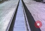 Image of rocket sled New Mexico United States USA, 1958, second 1 stock footage video 65675065046