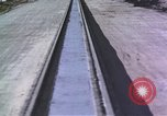 Image of rocket sled New Mexico United States USA, 1958, second 10 stock footage video 65675065046