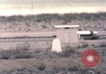 Image of ape rocket sled on track New Mexico United States USA, 1958, second 11 stock footage video 65675065058