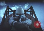 Image of ape on rocket sled test New Mexico United States USA, 1958, second 9 stock footage video 65675065061