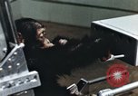 Image of training of chimpanzee New Mexico United States USA, 1960, second 3 stock footage video 65675065063