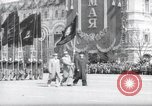 Image of May Day Parade Moscow Russia Soviet Union, 1954, second 1 stock footage video 65675065077