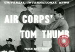 Image of small man Richard Mackey enters Air Force San Antonio Texas USA, 1951, second 2 stock footage video 65675065081