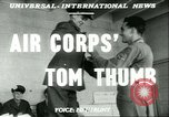 Image of small man Richard Mackey enters Air Force San Antonio Texas USA, 1951, second 3 stock footage video 65675065081