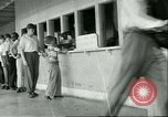 Image of small man Richard Mackey enters Air Force San Antonio Texas USA, 1951, second 8 stock footage video 65675065081