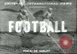 Image of football match West Point New York USA, 1951, second 1 stock footage video 65675065082