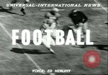 Image of football match West Point New York USA, 1951, second 2 stock footage video 65675065082