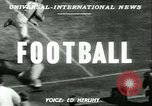 Image of football match West Point New York USA, 1951, second 4 stock footage video 65675065082