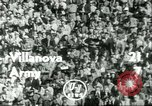Image of football match West Point New York USA, 1951, second 8 stock footage video 65675065082