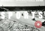 Image of motorcycle race Daytona Beach Florida USA, 1951, second 3 stock footage video 65675065090