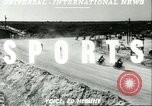 Image of motorcycle race Daytona Beach Florida USA, 1951, second 4 stock footage video 65675065090