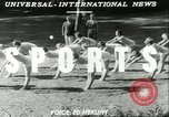 Image of Danish gymnasts Germany, 1951, second 2 stock footage video 65675065097