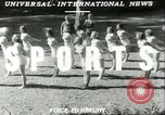 Image of Danish gymnasts Germany, 1951, second 3 stock footage video 65675065097