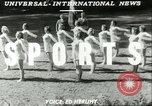 Image of Danish gymnasts Germany, 1951, second 4 stock footage video 65675065097