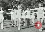 Image of Danish gymnasts Germany, 1951, second 5 stock footage video 65675065097