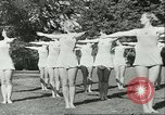 Image of Danish gymnasts Germany, 1951, second 6 stock footage video 65675065097