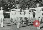Image of Danish gymnasts Germany, 1951, second 7 stock footage video 65675065097