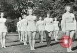 Image of Danish gymnasts Germany, 1951, second 8 stock footage video 65675065097