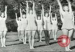 Image of Danish gymnasts Germany, 1951, second 9 stock footage video 65675065097