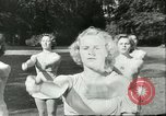 Image of Danish gymnasts Germany, 1951, second 10 stock footage video 65675065097