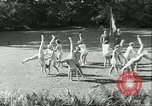 Image of Danish gymnasts Germany, 1951, second 12 stock footage video 65675065097