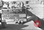 Image of American-Negro soldiers Anzio Italy, 1944, second 1 stock footage video 65675065099