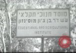 Image of agricultural school Palestine, 1945, second 1 stock footage video 65675065129
