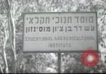Image of agricultural school Palestine, 1945, second 2 stock footage video 65675065129