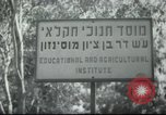 Image of agricultural school Palestine, 1945, second 4 stock footage video 65675065129
